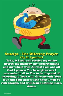 Happy Saints Suscipe Offering Prayer