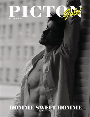 Picton Magazine May 2019 MEN GOLD N108 Cover 2