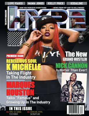 The Hype Magazine - Winter Issue #81 2013 - K Michelle
