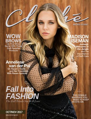 Cliché Magazine - Oct/Nov 2017 (Madison Iseman Cover)