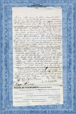 1883 C.B. CULVER TO TRUST DEED TO  E.J. COUCH