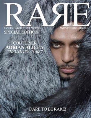 Rare Fashion Special Edition Jan/Feb 2016