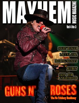 Mayhem Music Magazine Vol. 4 No. 3