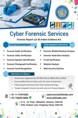 SIFS India Cyber Forensic Services