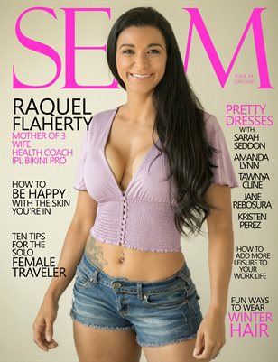 SEAM Magazine Issue #4 - 2019/2020 - Cover: Raquel Flaherty