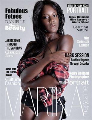 MARIKA MAGAZINE PORTRAIT (July - issue 76)