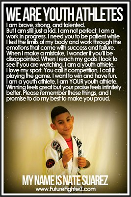 Nate Suarez Youth Athlete - Poster