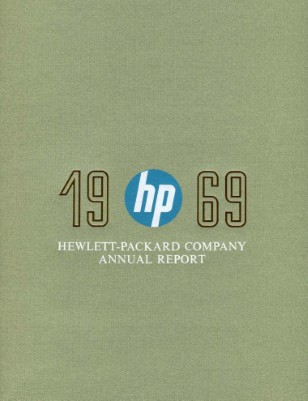HP Annual Report 1969