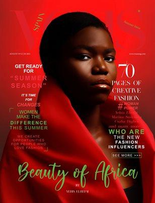 VOUS Magazine | The August Fashion & Beauty Edition | Vol.12 | 2021