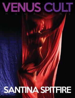 Venus Cult No.15 – SANTINA SPITFIRE Cover