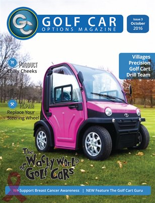 Golf Car Options Magazine - October 2016