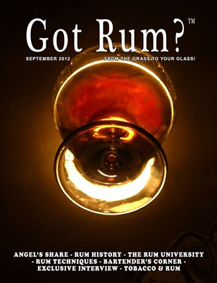 Got Rum? September 2012