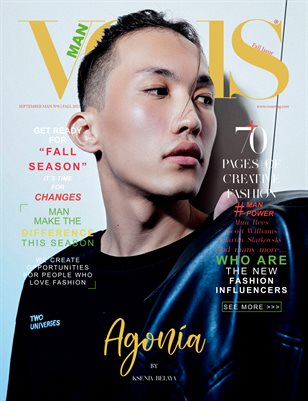VOUS Magazine | The Man Edition | Vol.6 | September 2021