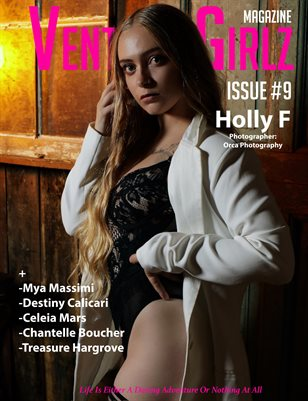 Venture Girlz Magazine Issue #09 Feat. Holly F
