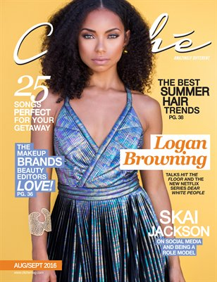 Cliché Magazine - Aug/Sept 2016 (Logan Browning Cover)