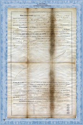 1874 Warranty Deed, McPike to Rose, Pike County, Missouri