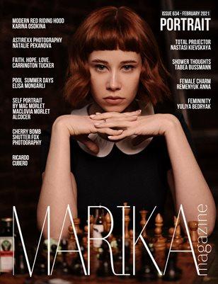 MARIKA MAGAZINE PORTRAIT (ISSUE 634 - February)