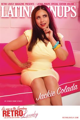 Latina Pinups Special Edition Vol.1 – Jackie Colada Cover Poster