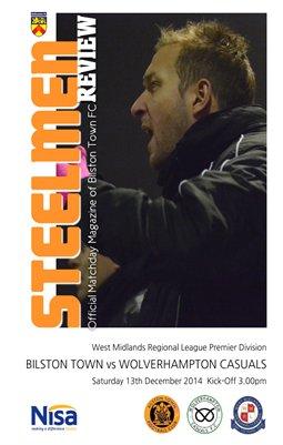 Bilston Town v Wolverhampton Casuals 13/12/14