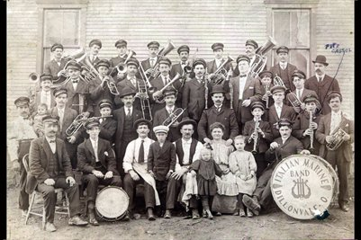 Italian Marine Band, Dillonvale, Jefferson County, Ohio