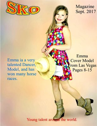 Sko Magazine sept. 2017 Emma