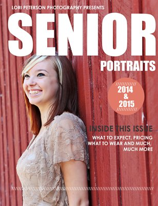 Guide to Senior Portraits by Lori Peterson Photography