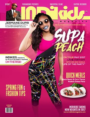 INDIKIDS SPRING 2017 SUPA PEACH COVER