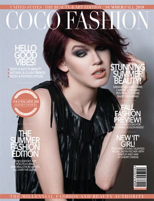 COCO Fashion Magazine - Sept 2018