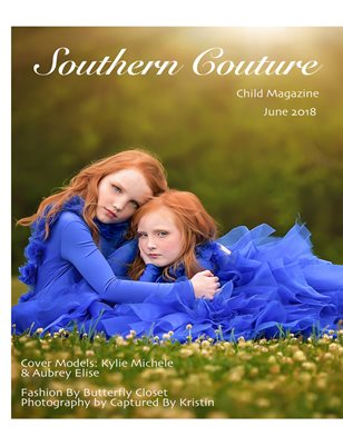 Southern Couture Child Magazine June 18