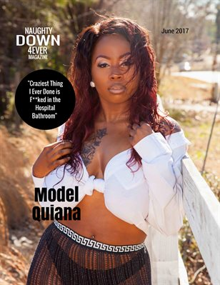 ND4E Magazine June Dual Issue w/Front Cover Model Quiana & Back Cover Model Mandy Red