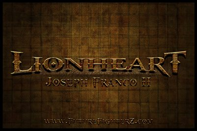 Joseph Franco Name Design Poster #2