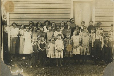 1913 New Hope School, McCracken County, Kentucky