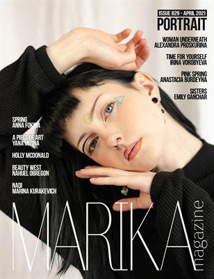 MARIKA MAGAZINE PORTRAIT (ISSUE 829- APRIL)