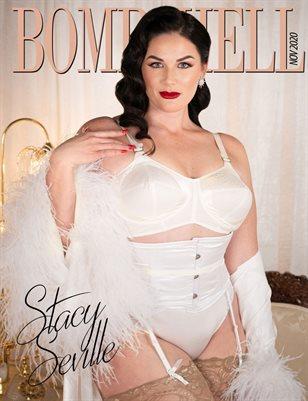 BOMBSHELL Magazine November 2020 - Stacy Seville Cover