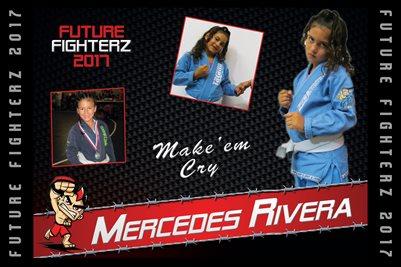 Mercedes Rivera Cal Poster 2017