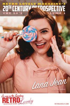 20th Century Retrospective – The 50's Vol. 1 - Lana Jean Cover Poster