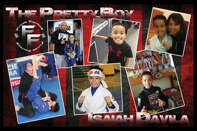 "Isaiah ""Pretty Boy"" Davila Collage Poster"