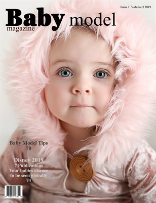 Baby Model magazine Issue 1 Volume 5 2019