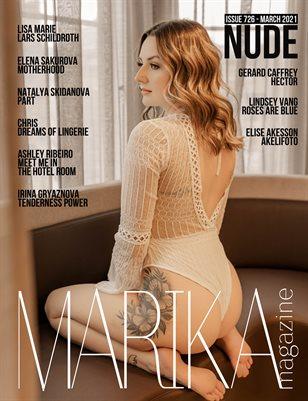 MARIKA MAGAZINE NUDE (ISSUE 726 - MARCH)
