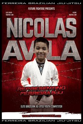 Nicolas Avila Barb Wire Poster