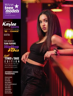Texas Teen Models Official Magazine - September 2020 - Vol. 36