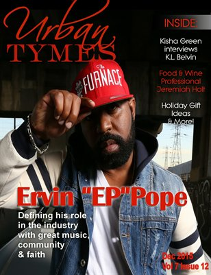 Dec 2015 Issue Featuring Ervin EP Pope