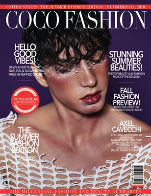 COCO Fashion Magazine - The Summer Fashion Edition - September 2018 - Vol.5