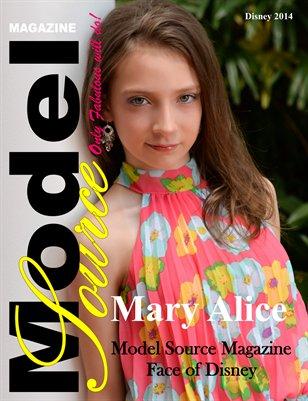 Mary Alice Disney 2014