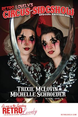 Circus & Sideshow 2021 Vol.2 – Trixie McLovin & Michelle Schroeder Cover Poster