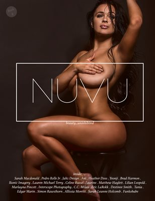 NUVU Magazine Book #8 ft. Sarah Macdonald