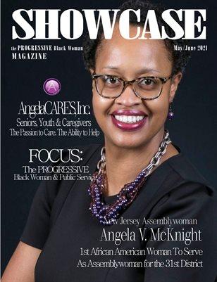 """SHOWCASE Magazine the """"PROGRESSIVE"""" Black Woman May/June 2021 Edition"""