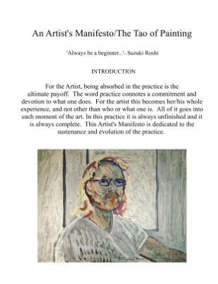 An Artist's Manifesto/the tao of painting