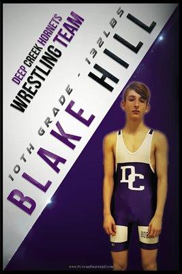 Blake Hill DC #1 Poster