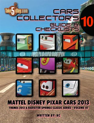 Themes 2013 & Radiator Springs Classic Series: Complete Visual Checklist & Guide
